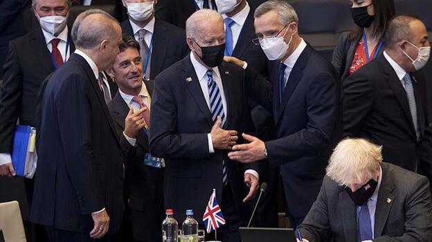 Son dakika... Cumhurbaşkanı Erdoğan'ın, Yunanistan Başbakanı Miçotakis ile görüşmesi başladı
