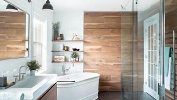 Duşlu ve küvetli bir banyo için 5 ilham kaynağı