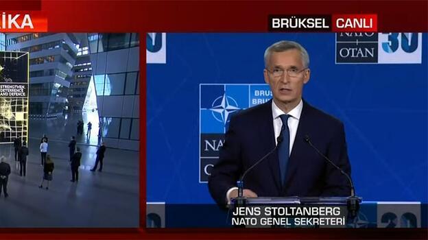 NATO Genel Sekreteri: Yeni bir sayfa açtık