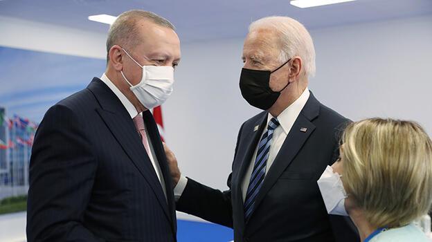 Cumhurbaşkanı Erdoğan'ın ABD Başkanı Biden ile görüşmesi başladı