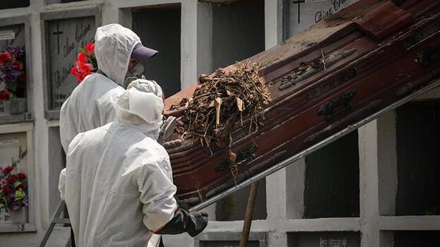 Kolombiya'da Kovid-19'dan ölenlerin sayısı 96 bini aştı