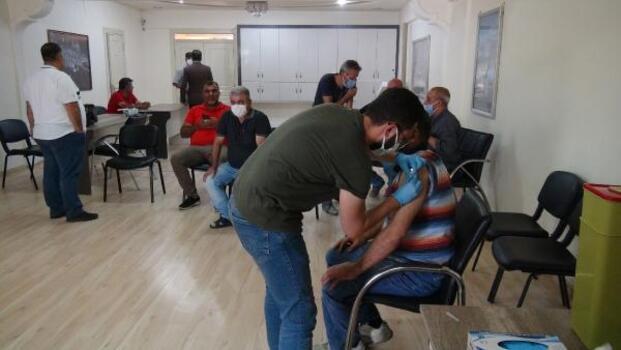 Kilis'te, koronavirüs aşısı yoğunluğu