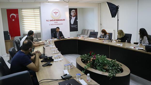 İzmir'de birinci doz aşı yapılan kişi sayısı, 1 milyon 421 bini geçti