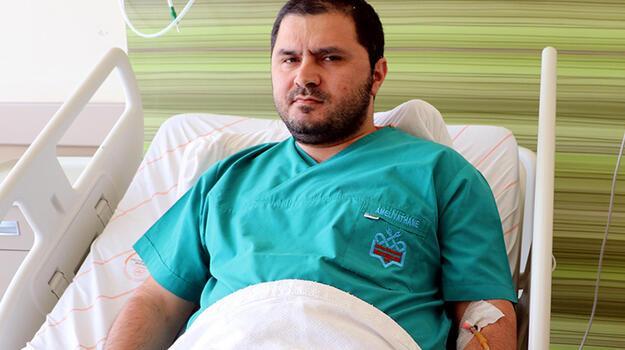 Silahlı saldırıda yaralanan doktor taburcu oldu