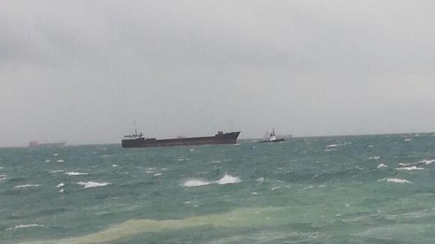 Kartal'da Panama bayraklı kargo gemisi sürüklendi