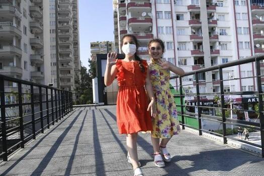 Adana'da asansörlü üst geçitler tamamlandı