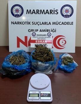 Marmaris'te uyuşturucu satıcısı yapılan operasyonla tutuklandı