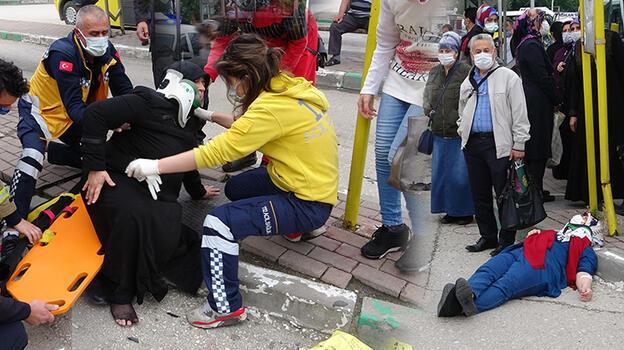 Son dakika: Bursa'da korkunç kaza! Otomobil durağa daldı