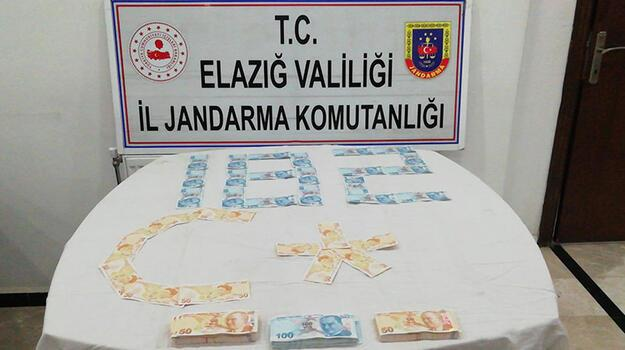 Elazığ'da sahte para operasyonu