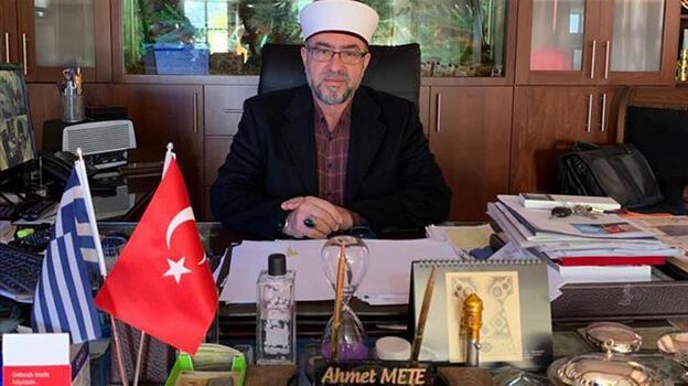 Yunanistan'da İskeçe müftüsü Mete'ye hapis cezası!