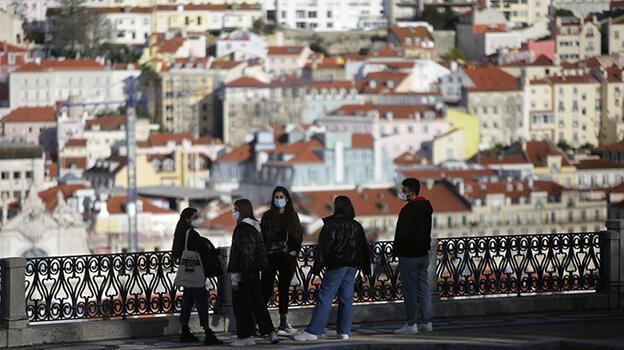 Son dakika... Lizbon'da hafta sonu kente giriş ve çıkışlar yasaklandı!