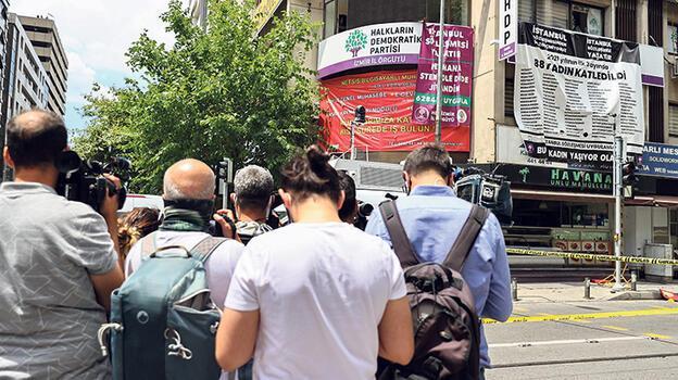 HDP il binasında silahlı saldırı