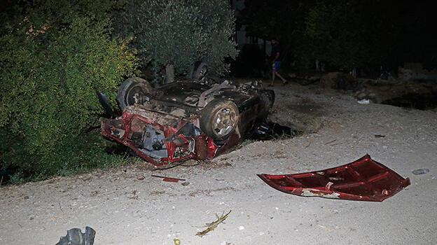 Muğla'da feci kaza! Araçtan fırlayan sürücü ağır yaralandı