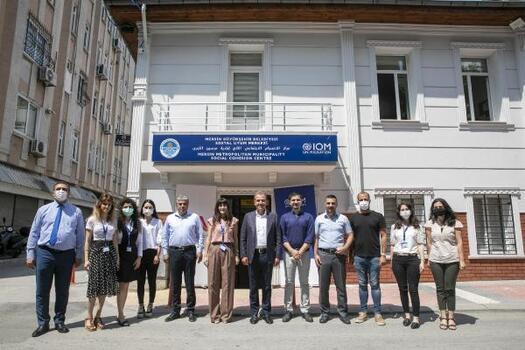 Mersin'de, Sosyal Uyum Merkezi açıldı