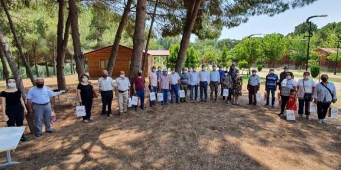 Emekliler Gençlik Kampı'nda moral buldu