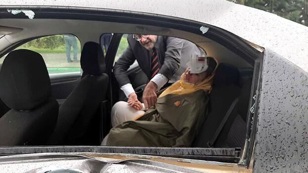 Son dakika: Davutoğlu'nun konvoyunda kaza; genel başkan yardımcısı ve 1 çocuk yaralı