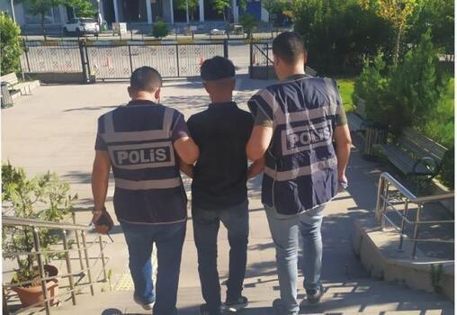 Kahta'da hırsızlık şüphelisi tutuklandı