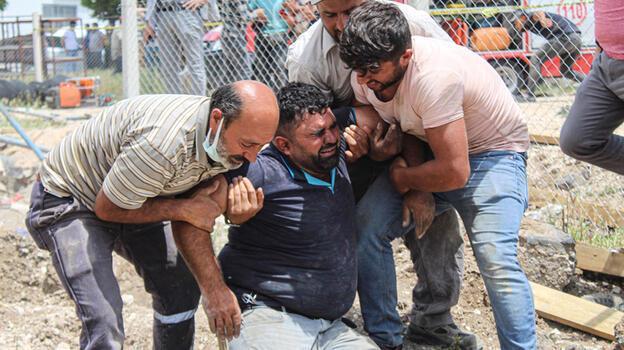 Ankara'da inşaatta göçük; Özgür öldü, babası yaralı