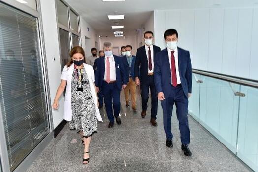 Sağlık Hizmetleri Genel Müdürü Mersin'de incelemelerde bulundu
