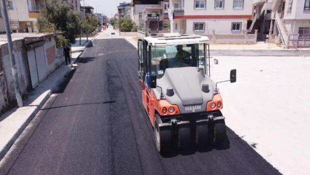 Tarsus Belediyesi yol asfaltlama çalışmalarına hız verdi