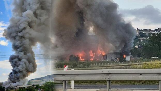 İstanbul'da fabrika yangını! Birçok ilçeden itfaiye sevk edildi