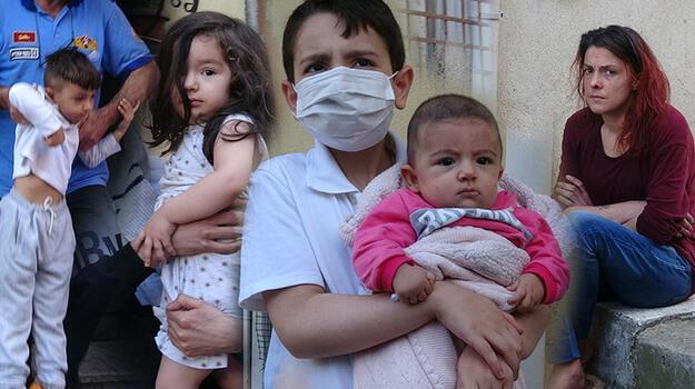 Son dakika... Bursa'da yangın! 1'i bebek 12 kişi kurtarıldı