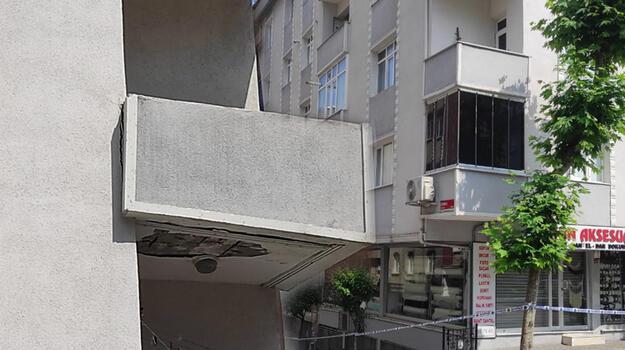İstanbul'da deprem sonrası çatlaklar oluşan bina boşaltıldı!