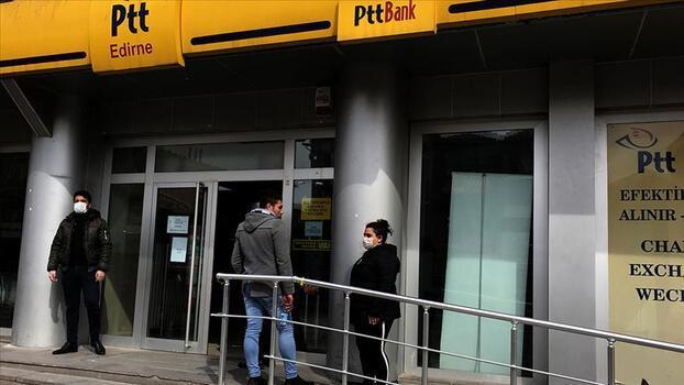 PTT iş yerleri normalleşme tedbirleri kapsamında kademeli olarak hizmete açılıyor