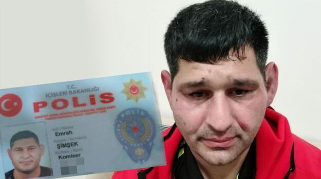 'Polis' deyip adliyeye girmeye çalışırken yakalandı! Adli kontrolle serbest bırakıldı