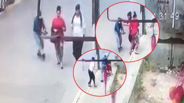 Avcılar'da dehşet! Eski eşine sokak ortasında silahla saldırdı