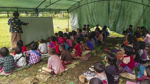 Myanmar ordusu çocuklara yönelik 1039 hak ihlalinde bulundu