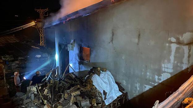 Sivas'ta bir evde çıkan yangında 1 kişi öldü