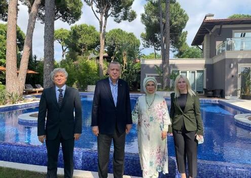 Cumhurbaşkanı Erdoğan'dan AÜ'ye destek