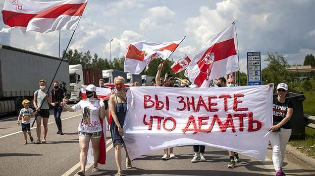 Belarus Başbakanı, Batı'ya meydan okudu!