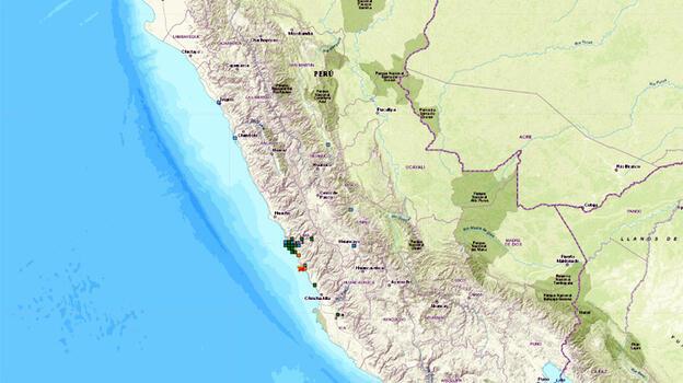 Peru'da 6 büyüklüğünde deprem