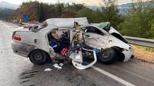 Bucak'ta kaza: 1 yaralı
