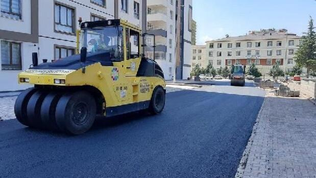 Kocasinan'da asfaltlama çalışmaları sürüyor
