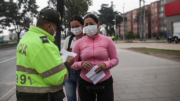 Kolombiya'da koronavirüse yakalanan kişi sayısı 4 milyonu aştı