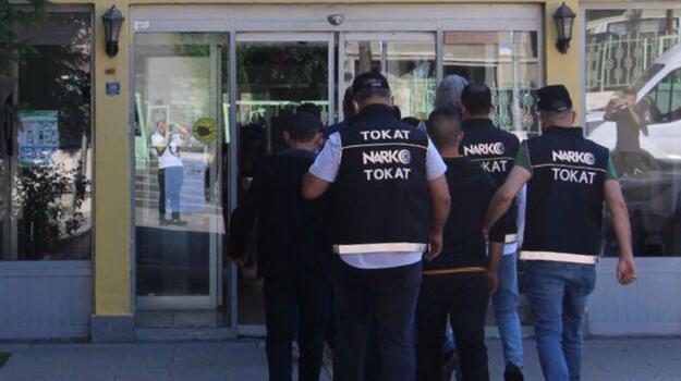 Tokat merkezli uyuşturucu operasyonu! 12 kişi tutuklandı