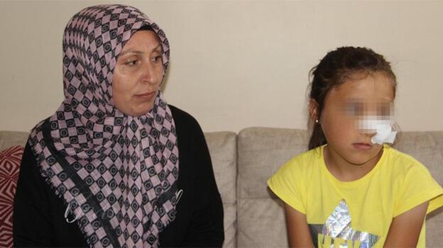 Baba-amca kavgasında 10 yaşındaki kız ölümden döndü