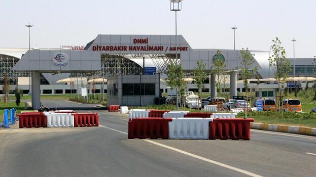 Pist onarımı yapılan Diyarbakır Havalimanı uçuşa açılıyor