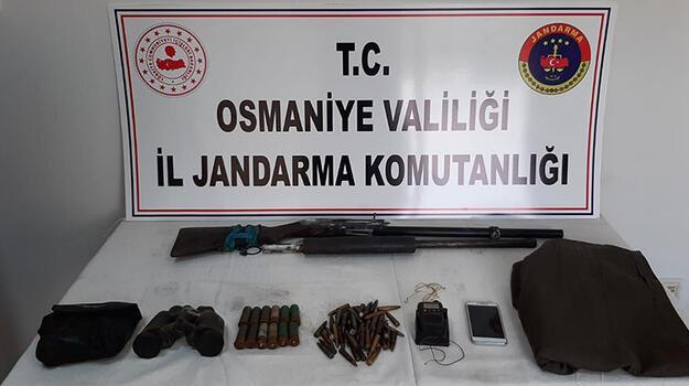 PKK sığınağında silah, mühimmat ve yaşam malzemesi ele geçti