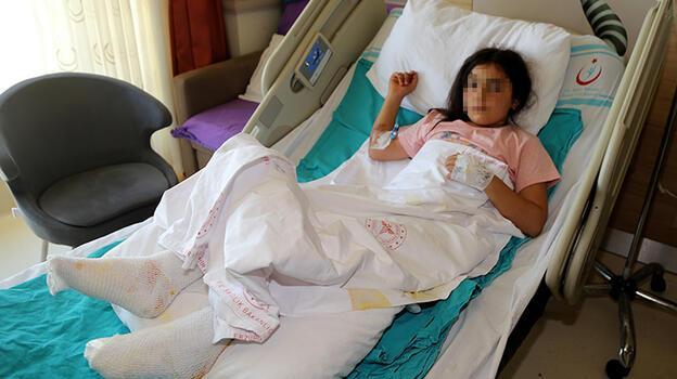 Kaynar su dolu çaydanlık devrildi, 9 yaşındaki çocuk yandı