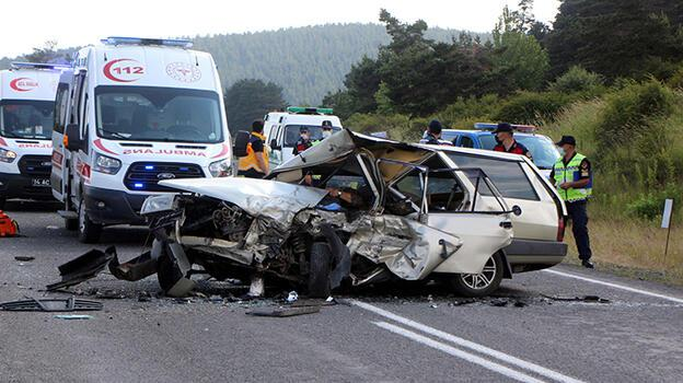 Feci kaza: Kafa kafaya çarpıştılar! Görenler koştu ama...