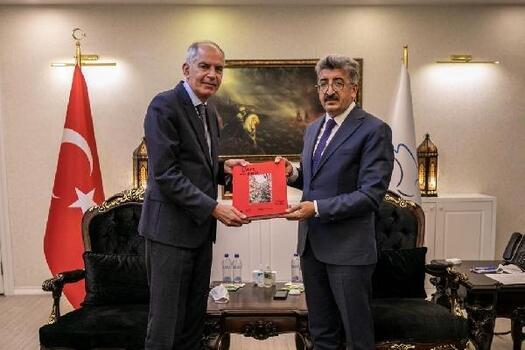 Fransa Büyükelçisi Herve Magro, Vali Bilmez'i ziyaret etti