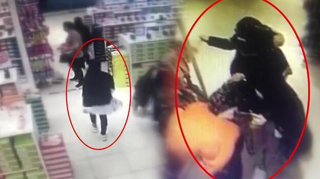 Mağazalarda yankesicilik yapan kadınlar böyle yakalandı!