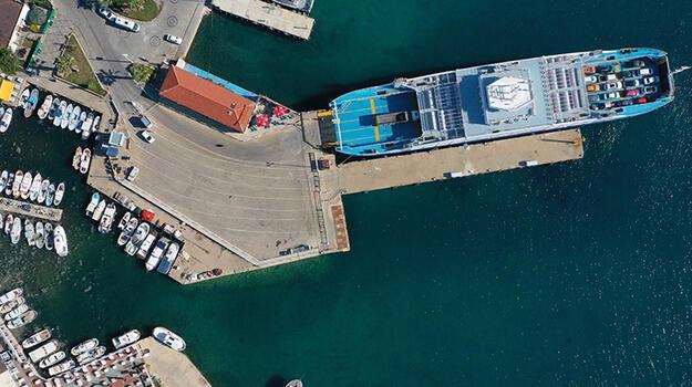 Bozcaada deniz otobüsü seferleri 3 Temmuz'da başlıyor!