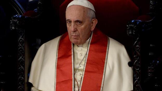 Son dakika: Papa hastaneye kaldırıldı! İşte son durumu...