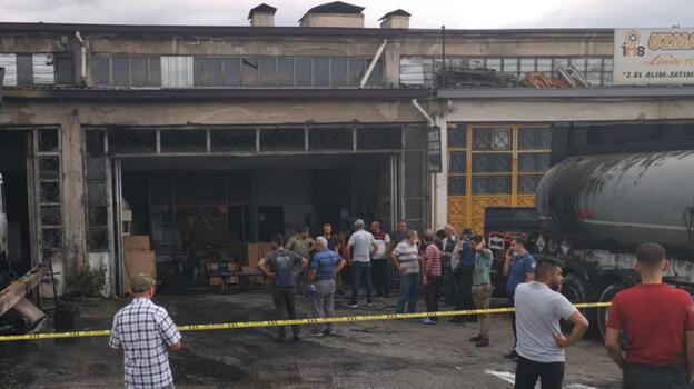 Malatya'da kaynak atölyesinde patlama: 3 yaralı
