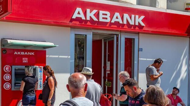 Son dakika: Akbank'tan yeni açıklama!  ATM'ler hizmet vermeye başladı
